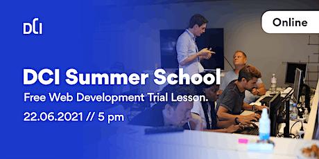 DCI Summer School! - Free Web Development Trial Lesson. tickets
