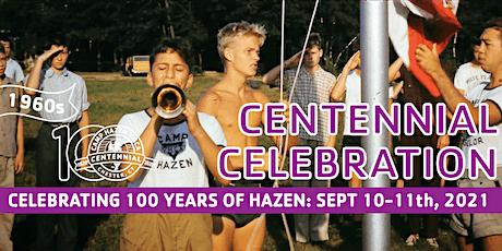 Camp Hazen YMCA Centennial Weekend tickets