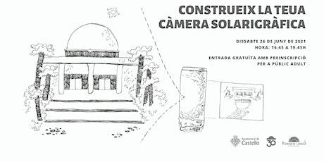 Taller de Solarigrafia Planetari entradas