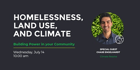 Homelessness, Land Use, and Climate Forum Tickets