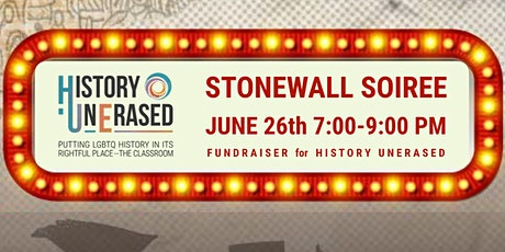 History UnErased's Stonewall Soiree Fundraiser tickets