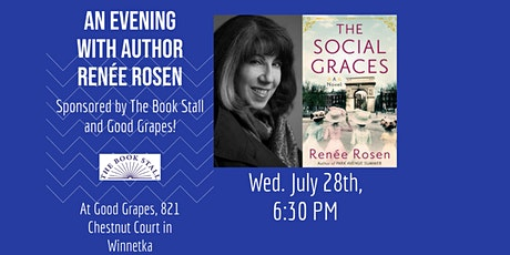 Renee Rosen: The Social Graces (An Outdoor Author Event) tickets