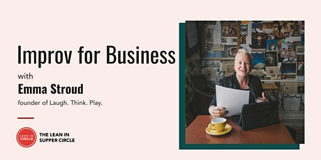 Improv for Business with Emma Stroud tickets