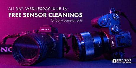 Free Sensor Cleaning tickets