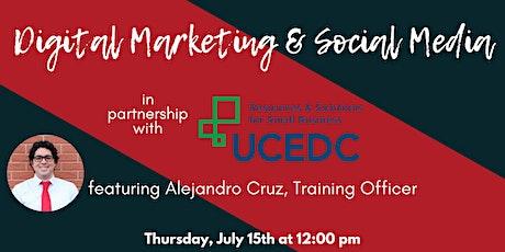 1776 & UCEDC Presents: Digital Marketing and Social Media biglietti