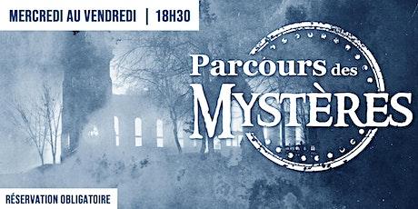 Visites guidées | Parcours des Mystères | 30 juin au 17 septembre billets