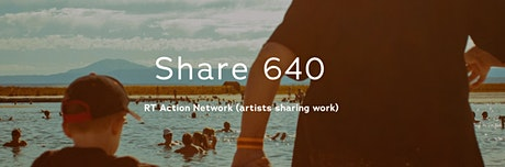 RT Action Network Share 640 (artists sharing work) tickets