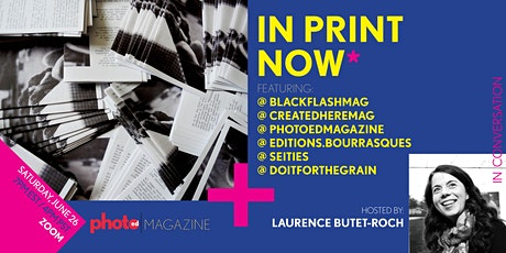 PhotoED Magazine presents: IN PRINT NOW* tickets