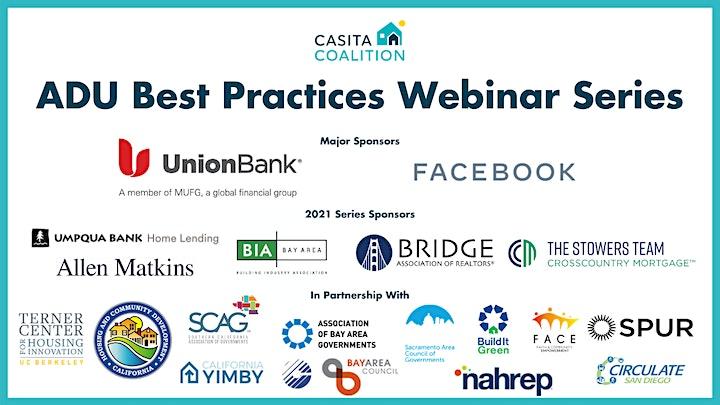 ADU Best Practices Webinar Series: Spotlight on East Palo Alto image