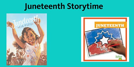 Online Preschool Storytime at Sedgwick Branch: Juneteenth Storytime tickets