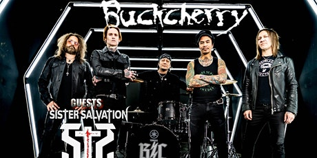 BUCKCHERRY with SISTER SALVATION live at STARLAND BALLROOM tickets