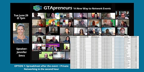 """GTApreneurs Afternoon Online Networking Event """"Simple Wellness"""" tickets"""