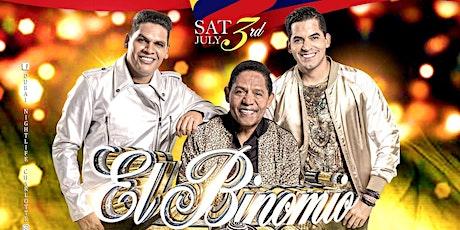 Binomio de Oro en Dubai Night Club | Charlotte, NC | Sabado 3 de Julio tickets
