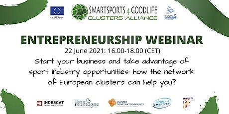Entrepreneurship Webinar - SmartSports4GoodLife tickets