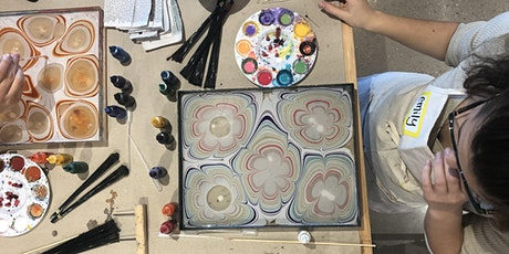 Water Marbling with Mercedez Rex tickets