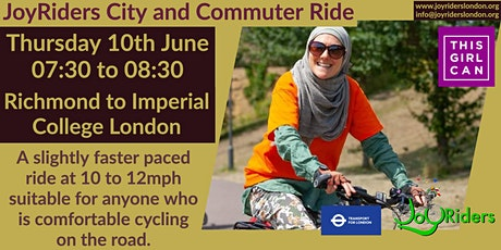 Cross City Ride: Richmond to Imperial College, South Kensington tickets