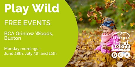 Play Wild (programme of 3 sessions on Monday 28th June, 5th & 12th July) tickets