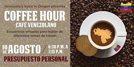 Coffee Hour | Manejo de Presupuesto Personal boletos