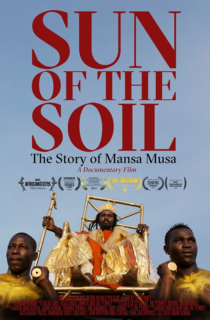 SUN OF THE SOIL: THE STORY OF MANSA MUSA-SCREENING AND Q&A WITH PRODUCER image