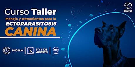 Curso Taller - Manejo y tratamiento para la Ectoparasitosis Canina boletos