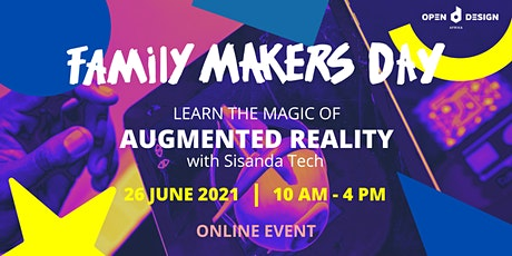 Magic of Augmented Reality (13 years and older): ODA Family Makers Day tickets