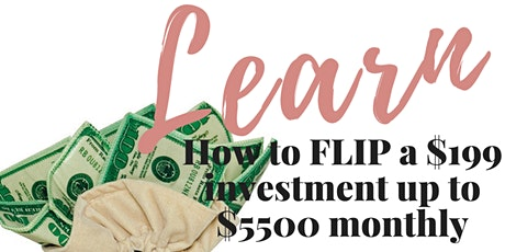 Learn how to turn a $199 investment in to up to $5,500 in monthly income. tickets