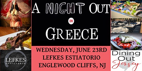 """Dining Out Jersey's """"Night Out In Greece"""" tickets"""