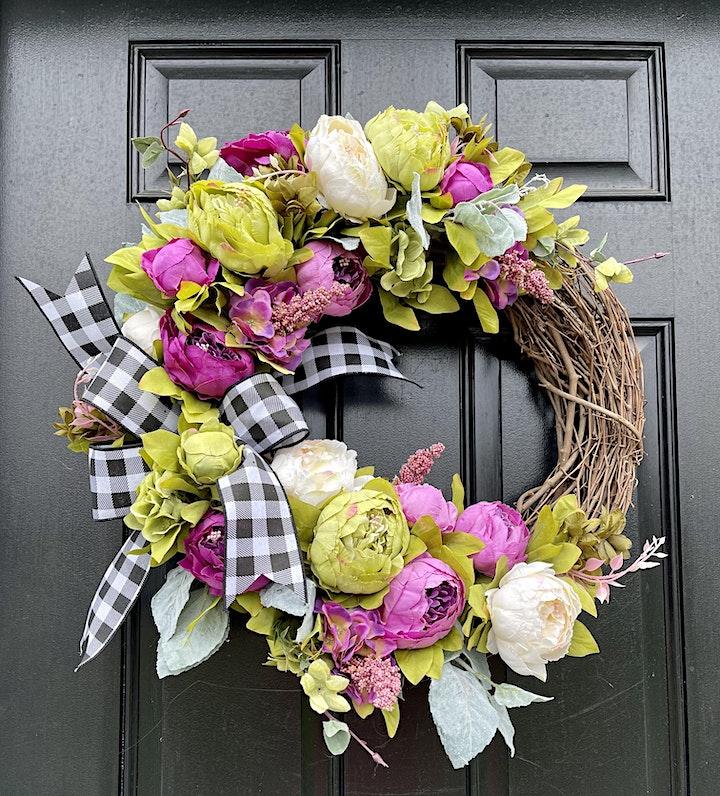 Crafts & Drafts: Spring Wreath Event image