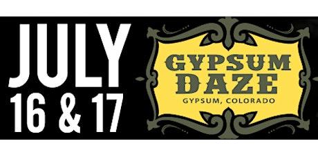 GYPSUM DAZE 2021 - FRIDAY & SATURDAY CONCERTS tickets