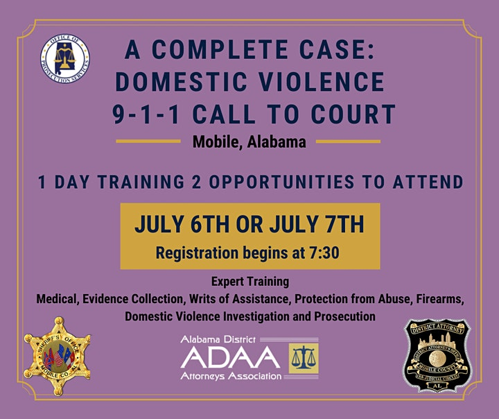 A Complete Case: Domestic Violence and Co-Occurring Crimes Wed. 7.07.21 image