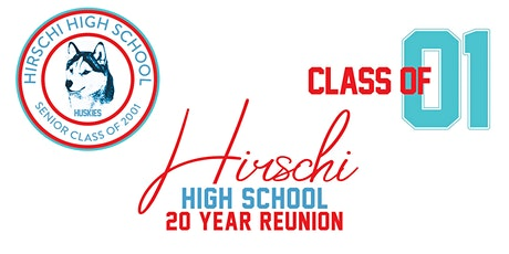 Hirschi High School Class of 2001 Reunion tickets