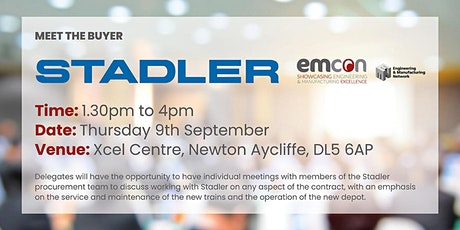 Stadler Rail - Meet the buyer. tickets