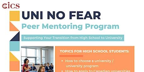 UNI NO FEAR: Peer Mentoring Program tickets