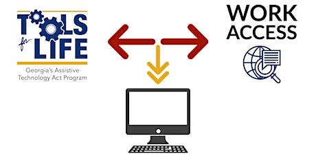 Work ACCESS: An Update on our Assessment Tool Development tickets