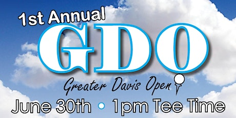 Greater Davis Open Golf Outing & Dinner For Russ's Birthday & Charity tickets