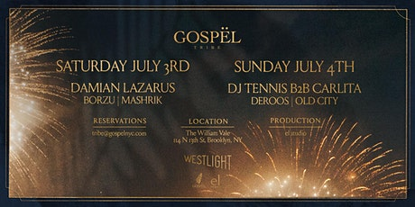 Gospel Tribe at Westlight atop The William Vale. An el studio production. tickets