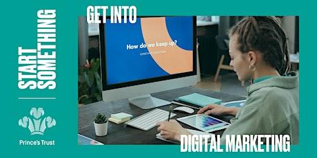 Get Hired - Digital Marketing tickets