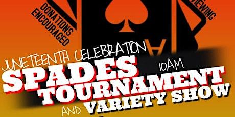 Juneteenth Celebration - variety show & spades tournament tickets