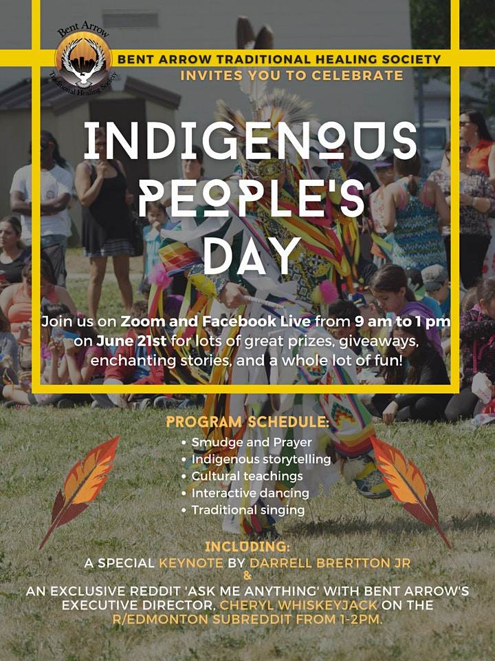 Bent Arrow's Indigenous People's Day Celebration image