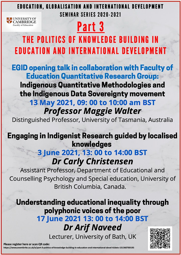Part 3: Politics of Knowledge Building in Education and International Devel image