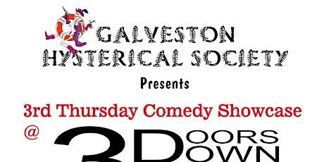 Galveston Hysterical Society Comedy Showcase tickets