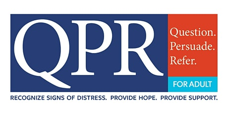 ADULT QPR (Question, Persuade, Refer) Suicide Training tickets