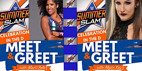 Celebration In The D  Meet & Greet With Marti Belle & Allysin Kay tickets