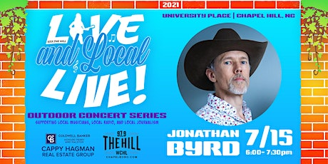 Live and Local Live Concert Series presents Jonathan Byrd! tickets