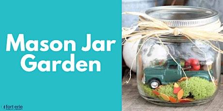 Tween/Teen Craft Kit - Mason Jar Garden tickets