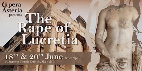Opera Asteria - The Rape of Lucretia tickets