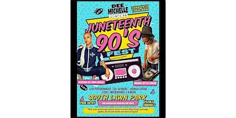 Juneteenth 90s Fest tickets