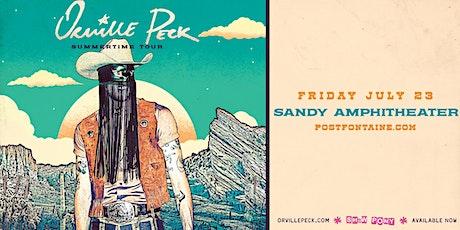 ORVILLE PECK - Summertime Tour tickets