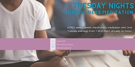 Orot Jewish Mindfulness Meditation Weekly Sit tickets