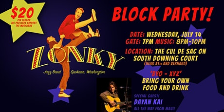 Zonky Jazz Band Block Party tickets